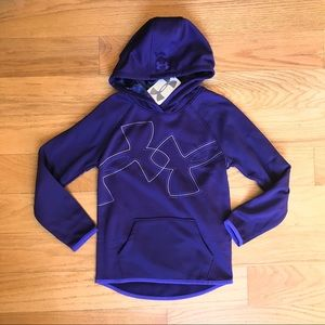 NWT Under Armour Purple Hoodie